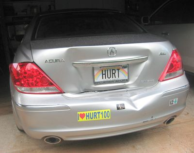 HURT Car Damage