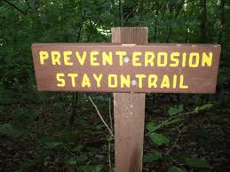 Stay on trail